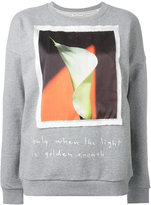 Each X Other Alessandra D'Urso print sweatshirt - women - Silk/Cotton - XS