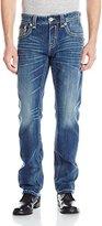 Rock Revival Men's Frankie J400 Straight Fit Jean