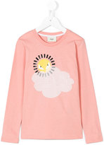 Fendi sun print T-shirt