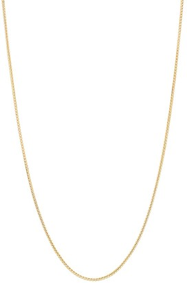 Saks Fifth Avenue Made In Italy Basic Chains 14K Yellow Gold Box Chain Necklace