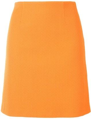 Paule Ka Pique Fitted Mini Skirt