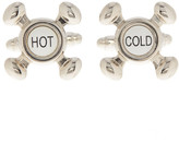 Cufflinks Inc. Hot & Cold Faucet Cuff Links