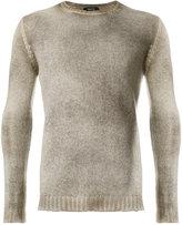 Avant Toi stonewashed crew neck sweater