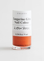Thumbnail for your product : And other stories Tangerine Glitz Nail Polish