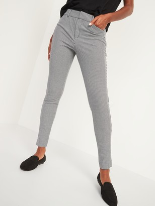 Old Navy All-New High-Waisted Pixie Full-Length Patterned Pants for Women