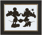 Ethan Allen Mickey Mouse and Minnie Mouse Silhouette I
