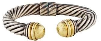 David Yurman Two-Tone Cable Classics Bracelet