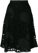 See by Chloe lace guipure A-line skirt - women - Cotton/Polyester/Viscose - 40