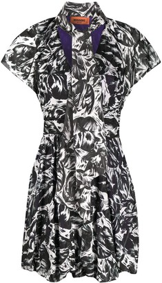 Missoni Monochrome Mini Dress