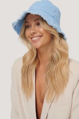 NA-KD Raw Edge Bucket Hat