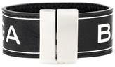 Balenciaga Printed leather bracelet