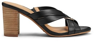 Aerosoles Highwater Leather Slides