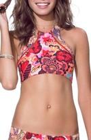 Maaji Women's Surfers Selfie Reversible Bikini Top