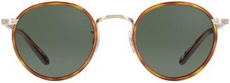 Garrett Leight Wilson Sun Butterscotch-tort Sunglasses