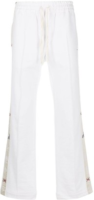 Casablanca Drawstring Cotton Track Pants