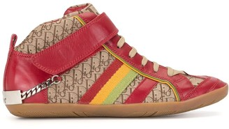 Christian Dior pre-owned Rasta Trotter high-top sneakers