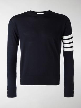 Thom Browne 4-Bar detail jumper