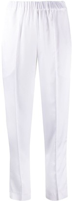 Giada Benincasa Raised Seam Cropped Trousers