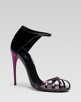 Gucci Margot Caged Toe Evening Sandal