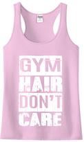 Urban Smalls Light Pink 'Gym Hair Don't Care' Racerback Tank - Toddler & Girls