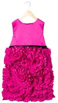 Milly Minis Girls' Rosette Sleeveless Dress w/ Tags