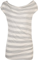 Striped Side Pinch Top