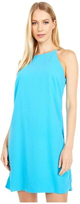 Lilly Pulitzer Adrienne Dress (Formentera Turquoise) Women's Dress