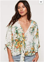 Love Stitch Kimono Sleeve Top
