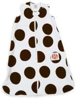 Bed Bath & Beyond Gunamuna Gunapod Small Wearable Blanket in Chocolate Dot