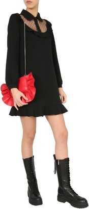 RED Valentino Double Stretch Crepe Dress