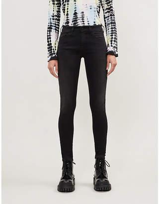 Diesel Slandy skinny high-rise stretch-denim jeans