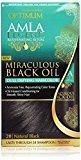 Optimum Care Amla Legend Miraculous Black Oil Dull Defying Haircolor, Natural Black