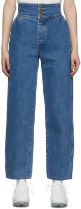 Gil Rodriguez Blue Marseille Jeans