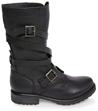 Steve Madden Banddit Black Leather
