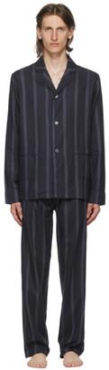 Paul Smith Black Striped Pyjama Shirt