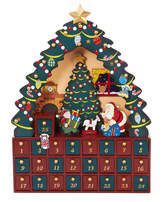 Kurt Adler 16 Christmas Tree 24-Piece Advent Calendar