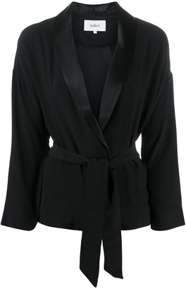 BA&SH Sugar tie-waist jacket