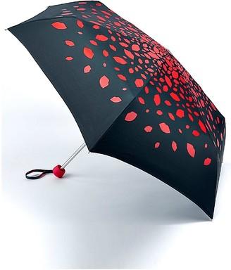 Lulu Guinness Minilite Raining Lips Umbrella