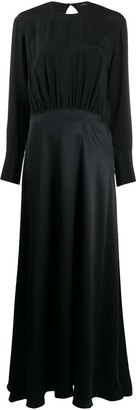 Joseph Ray satin double face dress