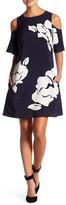 Laundry by Shelli Segal Floral Trapeze Dress (Petite)