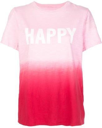 Cinq à Sept Happy tie-dye T-shirt