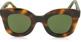 Celine BABY MARTA CL 41393/S Acetate Square Frame Women's Sunglasses