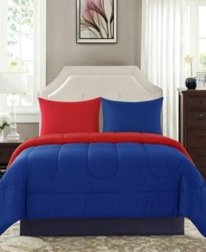 New Sega Sega Home Solid Reversible 3 Piece King Comforter Set Bedding
