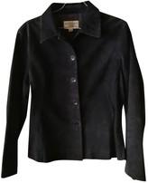 Ungaro Navy Suede Jacket for Women Vintage