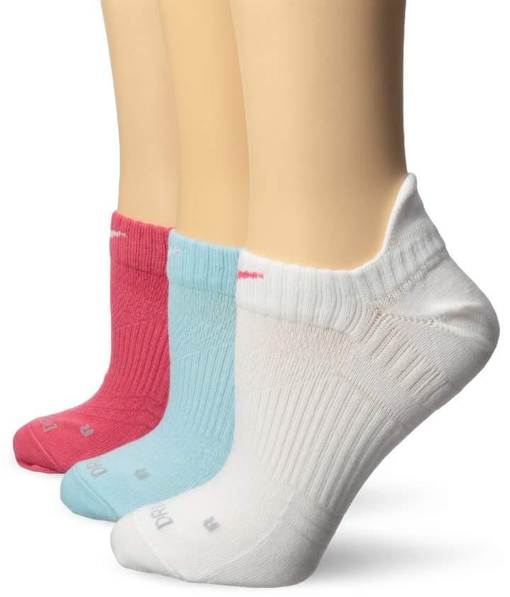 Nike Womens 3PK Arch Compression Crew Socks Red M