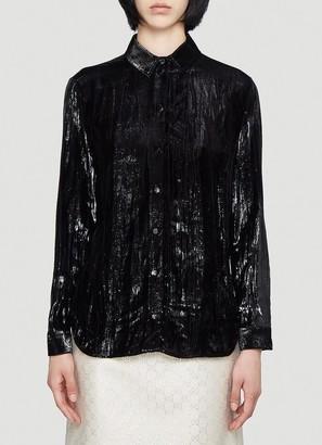 Gucci Shiny Velvet Shirt