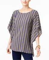 MICHAEL Michael Kors Printed Poncho Top, a Macy's Exclusive Style