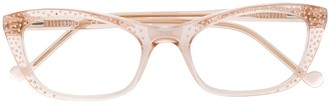 Liu Jo transparent cat-eye frame glasses