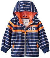 Carter's Baby Boy Striped Hooded Lightweight Jacket