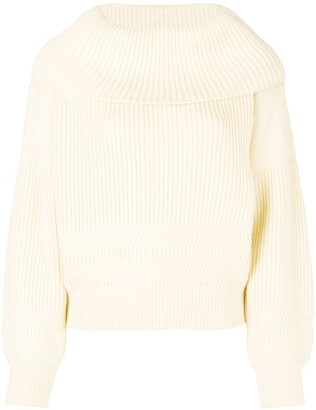 Issey Miyake Pre Owned 80's Cowl Neck Jumper